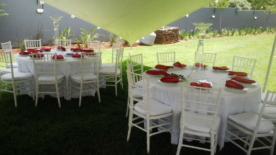 Best prices on stretch tents and chairs for hire junk