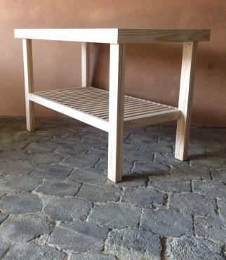 Kitchen Island Farmhouse series 1450 Raw