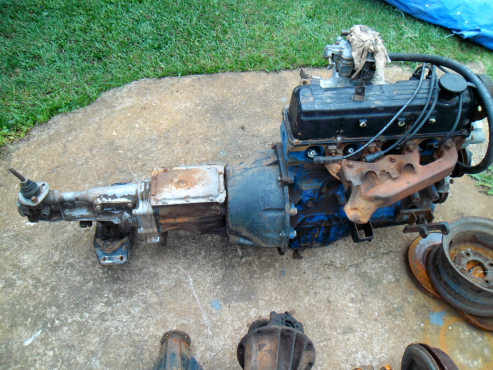 2l Ford Cortina Engine And Gearbox For Sale Junk Mail