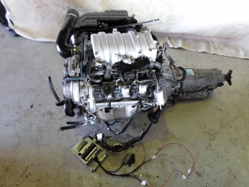 Lexus v8 engine and gearbox for sale | Junk Mail