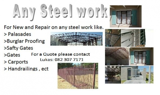 Lnv  steel work