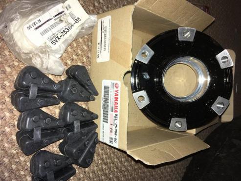 Yamaha Hub Clutch, Dampers and Rear Wheel for sale - R1/R6/FZ1/FZ6