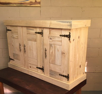 Kitchen Cupboard Wall unit Farmhouse series 1300 Raw