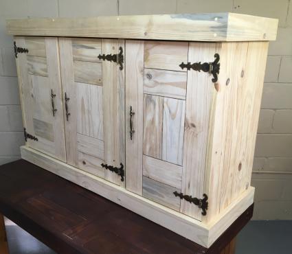 Kitchen Cupboard Wall unit Farmhouse series 1300 - Raw