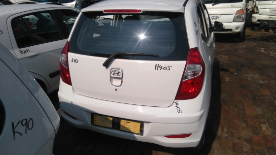 Hyundai I10 1.1 2014 now for stripping of parts.