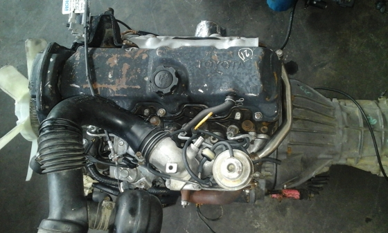 Toyota 2l Diesel Trucks Usa >> Toyota Hilux 2l 2 4 Engine For Sale Junk Mail