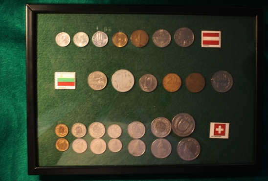 Coins of the World – A Display Selection