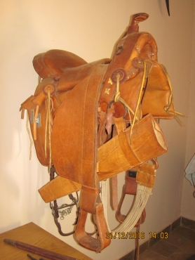 Antique Cowboy/Stock Saddle for sale