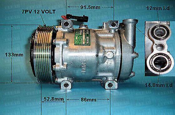 alfa romeo 147 and 156 aircon pump for sale  contact 0764278509  whatsapp 0764278509