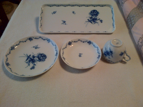Porcelain Coffee Set Furstenberg Collectable