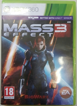 Mass Effect 3 XBOX  360 2x disc Game