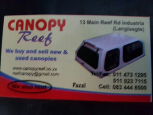 Canopy Reef: New and used canopies for sale