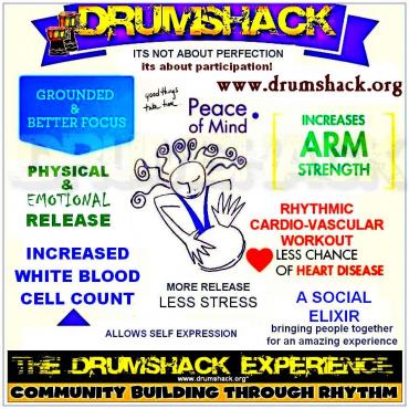 Drumshack Castle Bonfire Drum Circle