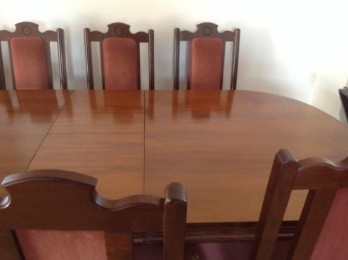 SOLID IMBUIA DINNING ROOM SET