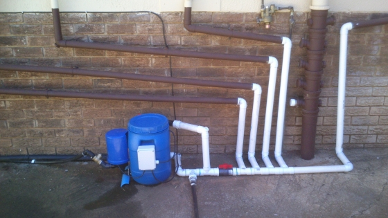 Compact Portable Diy Grey Water System Excluding Courier