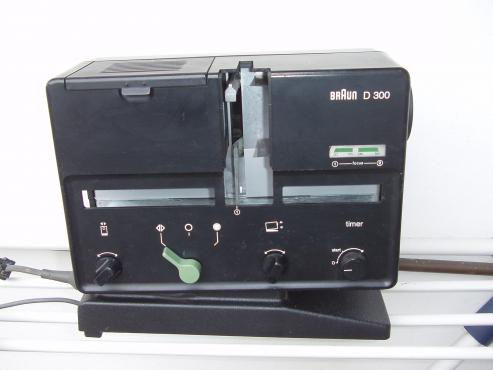 Braun Slide projector - D 300
