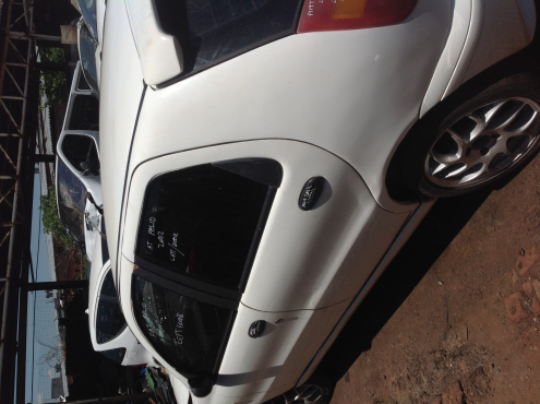 Stripping Fiat Palio 2002 for Spares