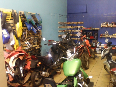 Bikes , quads , scooters etc secondhand spares & new and workshop. Finance available on spares and r