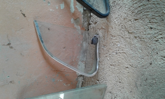 VW Beetle spares, (windows, lights and wheel)