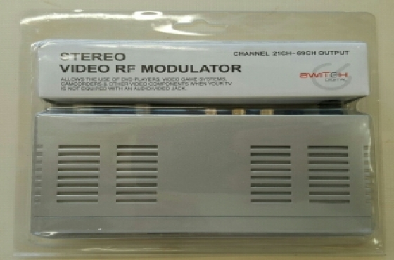 AV to RF Audio Video Modulator converter.
