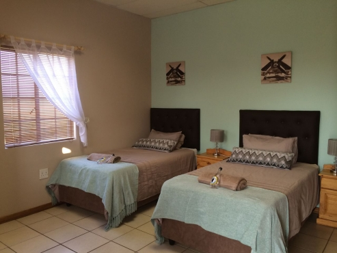 Eagle Flight Guest Lodge - Luxurious self catering accommodation Hartswater