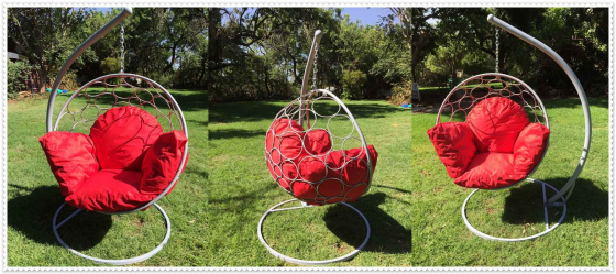 Beautiful Robust and Comfortable Swing Chairs With Cushions For Sale..