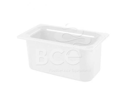 Coldmaster - Half Size Food Pan - 152mm - White | Junk Mail