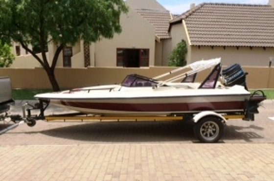 17ft Boat and Cover