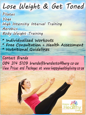 Weight Loss: Pilates, Yoga, High Intensity Interval Training, Aerobics, Body Weight Training.