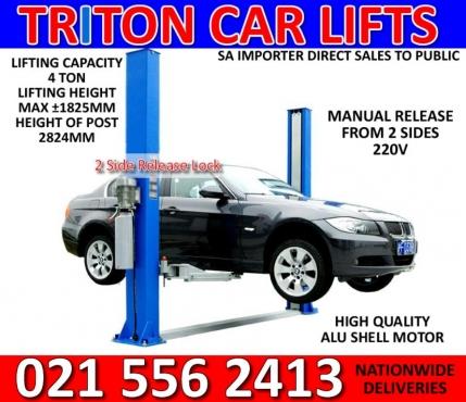 4 ton 2 post car lifts 220v  | Junk Mail