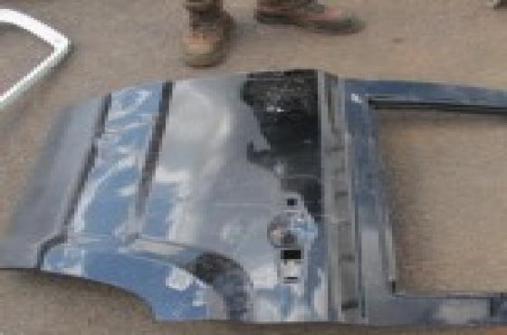 2013 Jeep Patriot Left Rear Door Shell Black For Sale