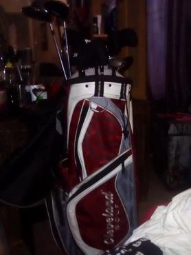 Cleveland golf set for sale.