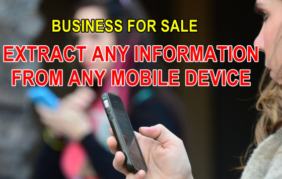 Cellphone mobile forensics (data extraction) business for sale even if deleted R410 000