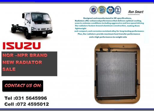 Isuzu NQR and NPR BRAND NEW RADIATORS FOR SALE R3100