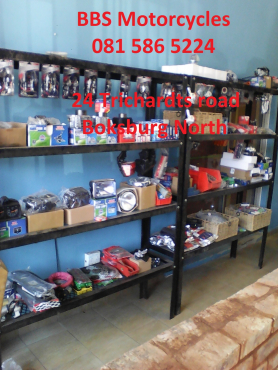 New and secondhand spares Bikes , Scooters , Quads , Off roads etc