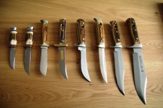 Early SA knifemakers' knives wanted - Arbuckle, Chris Reeve, Grey, Wood, Also Puma, Kershaw, Al Mar.