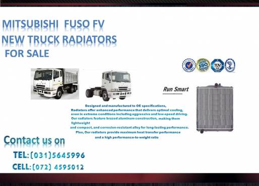 Mitsubishi Fuso FV Series FOR SALE price- R5500