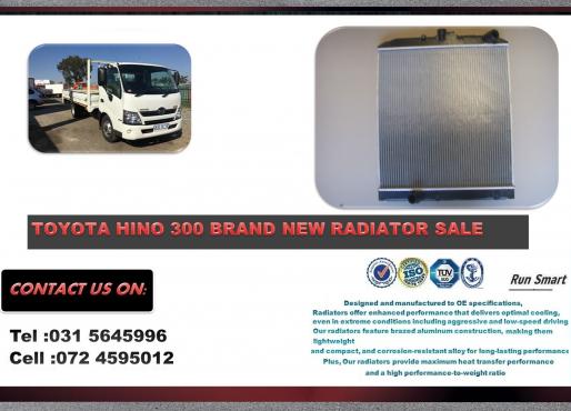 Toyota Hino 300 Series BRAND NEW RADIATORS FOR SALE R3100
