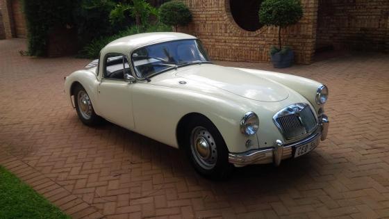 1958 MGA coupe for sale