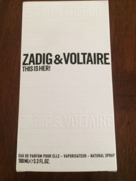 Zadig & Voltaire Perfume, This is Her
