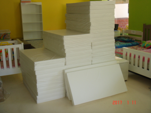 Creche Mattresses- Cot PVC Covered Mattresses