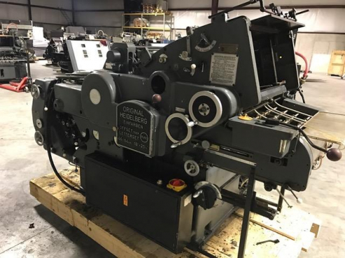 Buy Used 1977 Heidelberg KORD 64 Machine