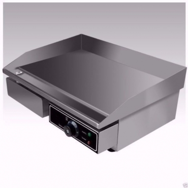 Flat Top Stainless Steel Electric Griddle 3.0kW