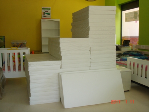 Creche Mattresses- COT PVC Covered Matttresses