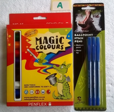 Stationery Pack for School, Home or Office - Bundle A