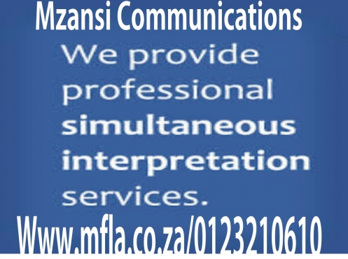 Simultaneous interpreting services in Johannesburg