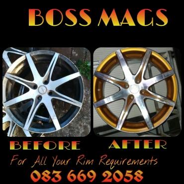 Boss Mags Rim Repairs
