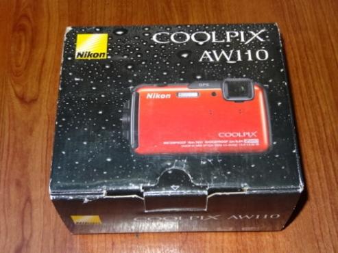 Nikon COOLPIX AW110 Camera 16MP Camera