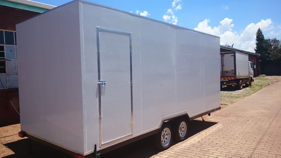 2017 Trailer Special, Mobile kitchen and Coldrooms