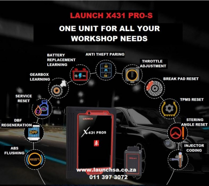Original Launch X431 PRO S Diagnostic Tool With 3 Years Free